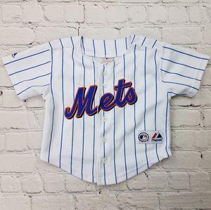 Jose Reyes New York Mets Pinstripe Baseball Jersey